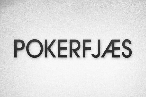 Pokerfjæs